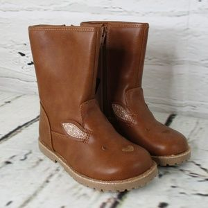 Cat & Jack Little Girl Tall Fashion Boots